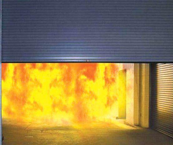 Cửa cuốn chống cháy Austdoor