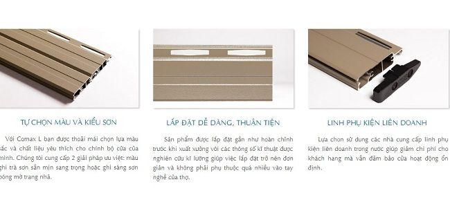 Cửa cuốn khe thoáng master-comax L 4