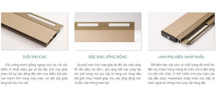 Hình ảnh chất lượng Nan cửa cuốn Master-Sunnext