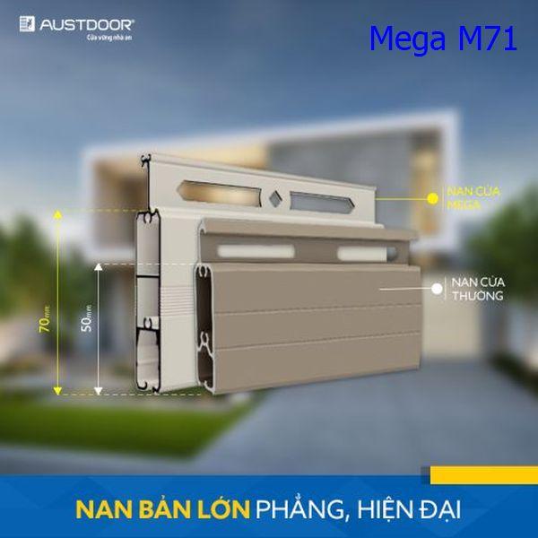 Cửa cuốn nan nhôm Mega M71